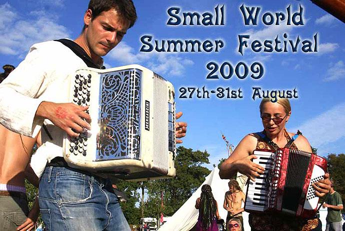 Small World Summer Festival Flyer